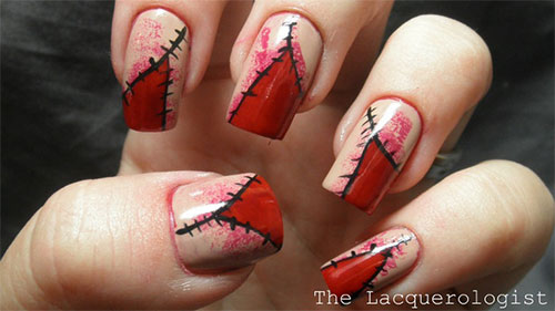 16 Scary Nail Designs Images