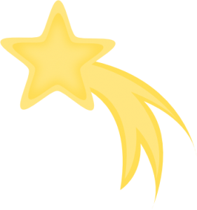 Shooting Star Clip Art