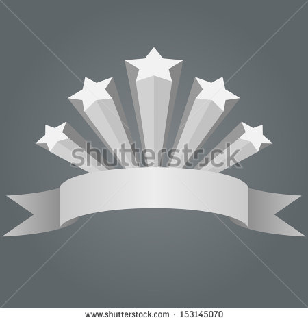 Shooting Vector Stars Illustration