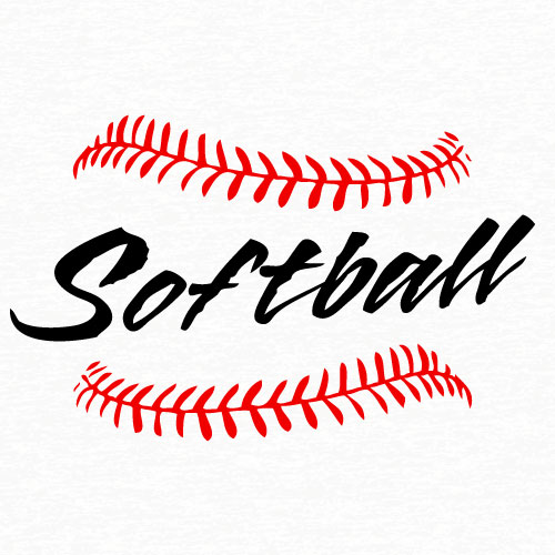 15 Softball Vector Graphics Images