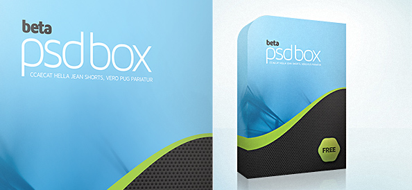 11 3D Box Psd Free Templates Images