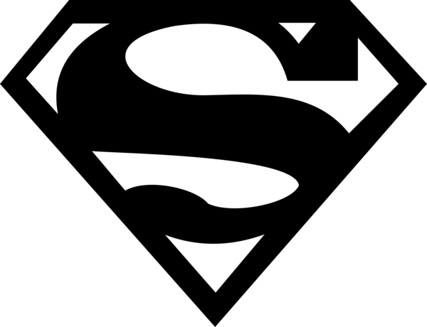 14 Superman Logo Vector Art Images