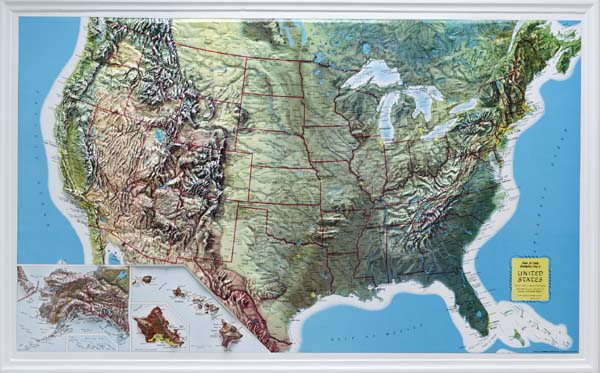 11 Topographic Map Of The United States Images
