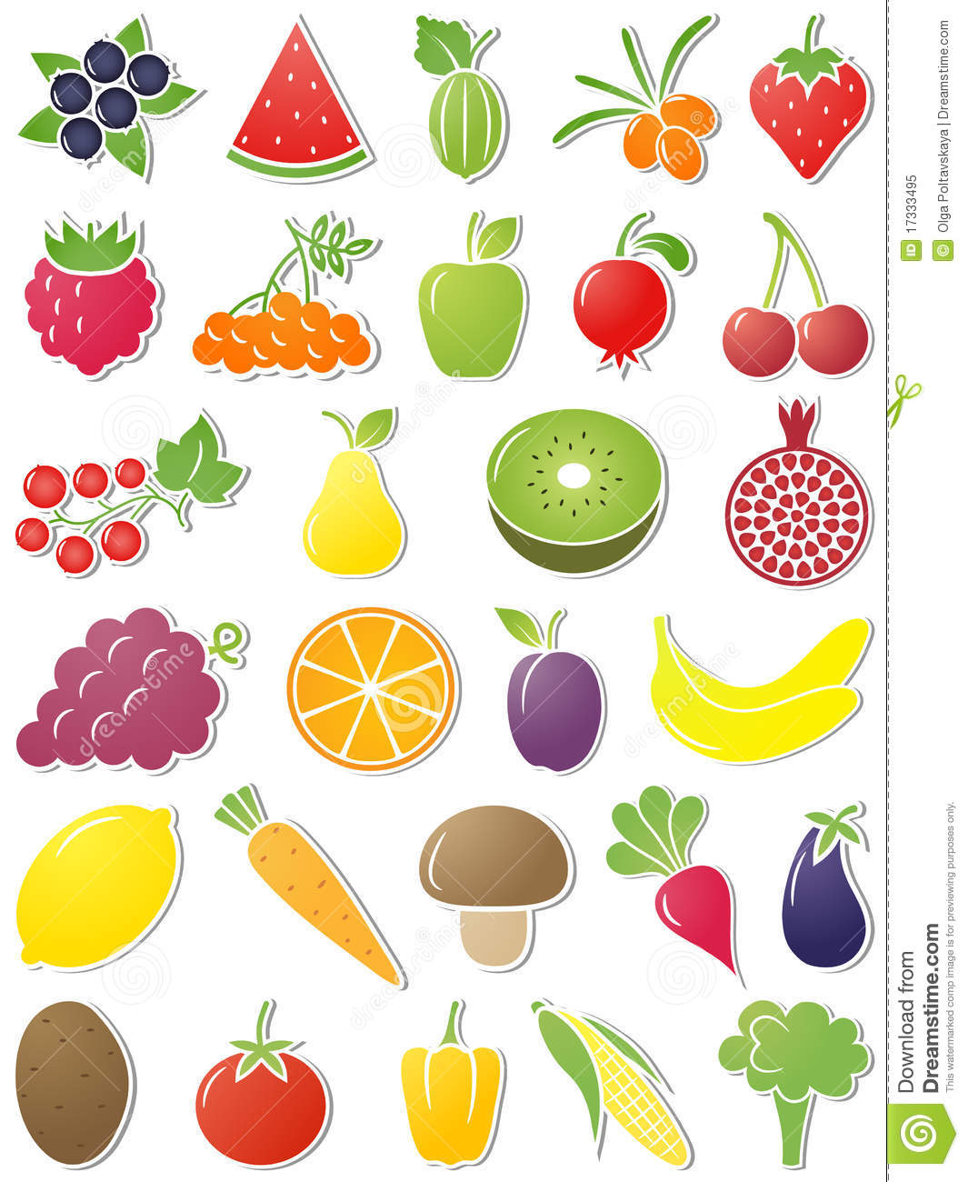 Vector Food Icons