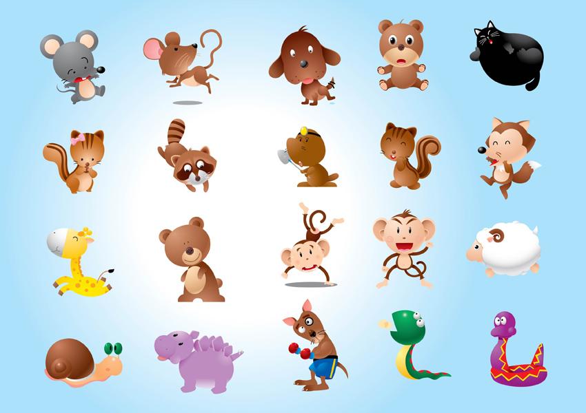 Vectors Animal Characters