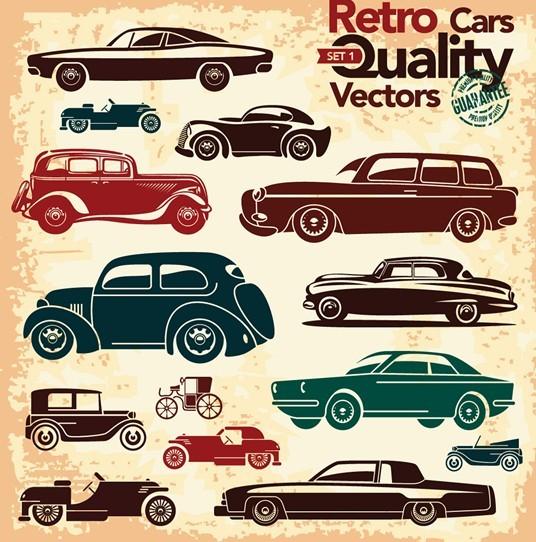 Vintage Car Template