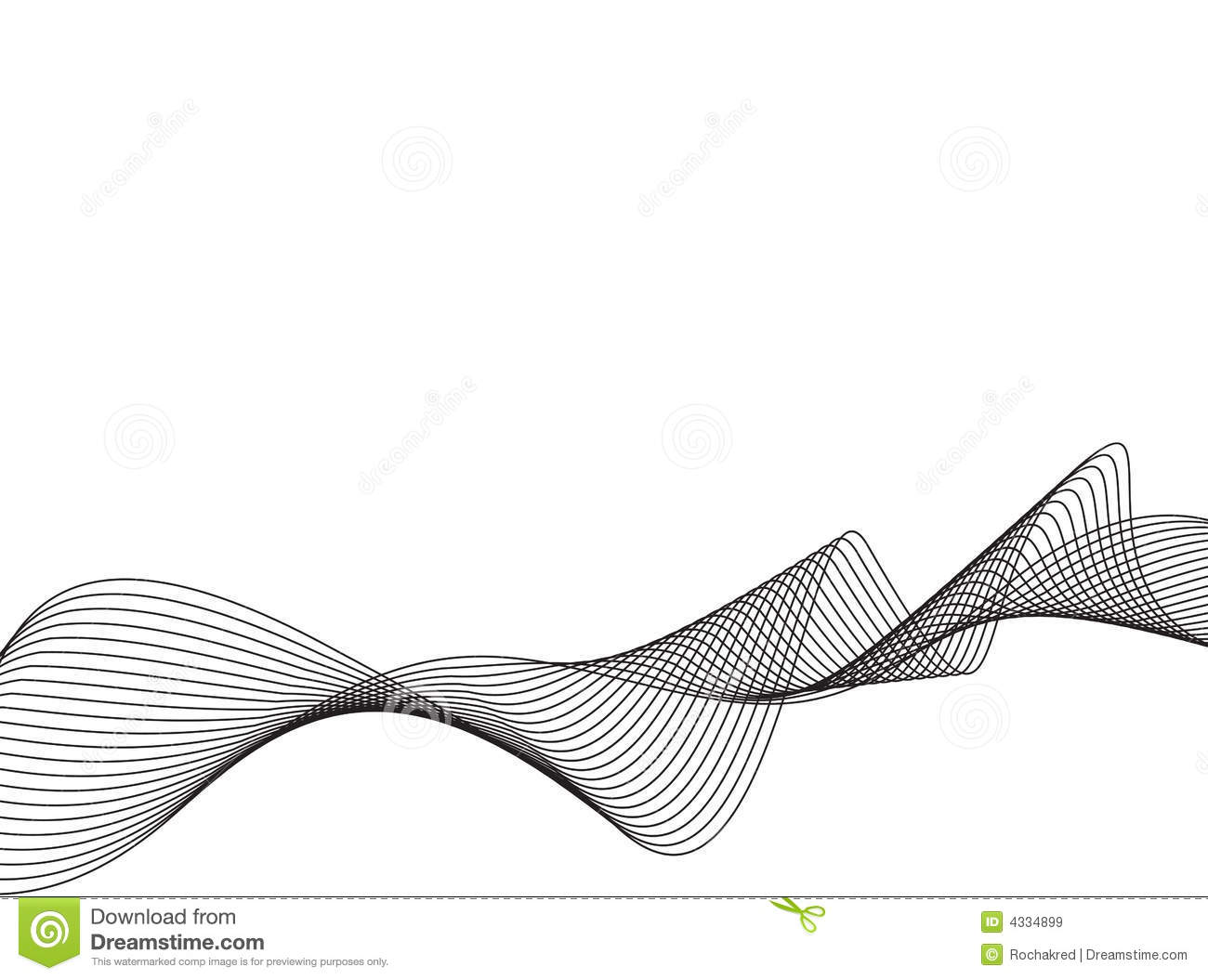 Vector Drawing Lines Java : Wave line vector images graphics ocean