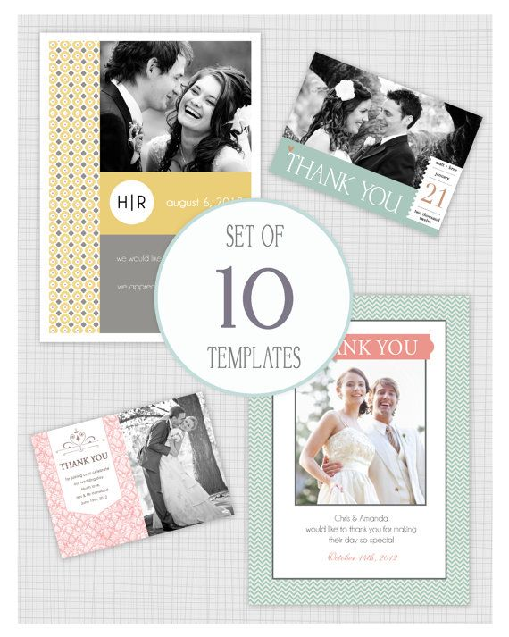 Wedding Thank You Card Templates Psd Free