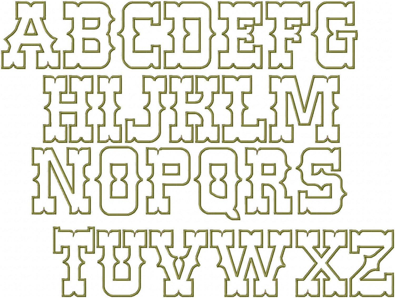 9 Western Cowboy Alphabet Fonts Images - Free Cowboy Western Fonts