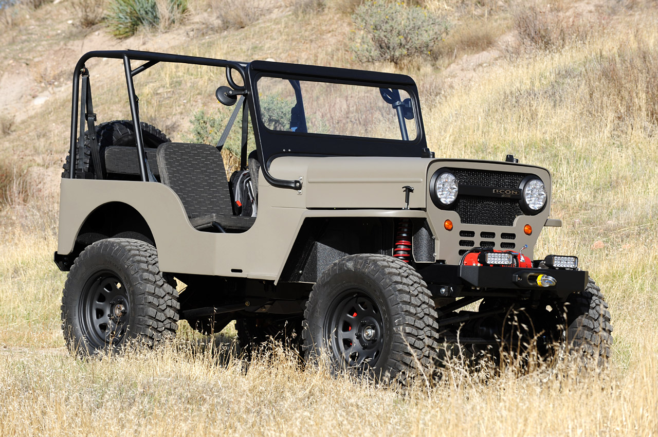 Willys CJ3B Jeep