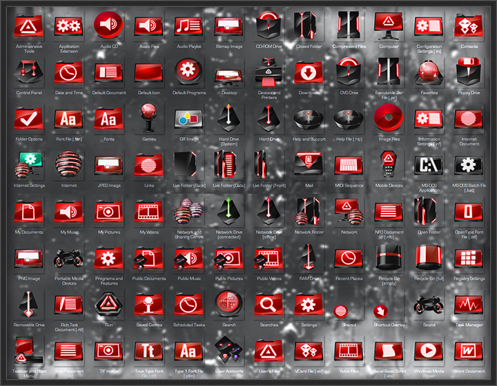 Windows 7 Icon Pack