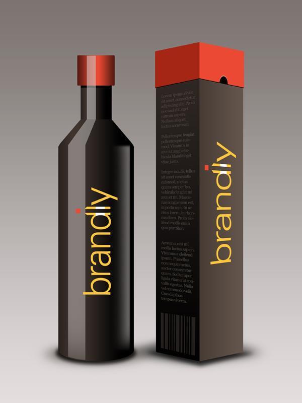 Wine Bottle Box Template