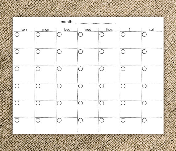 X Files Calendar : Simple blank calendar template images full size