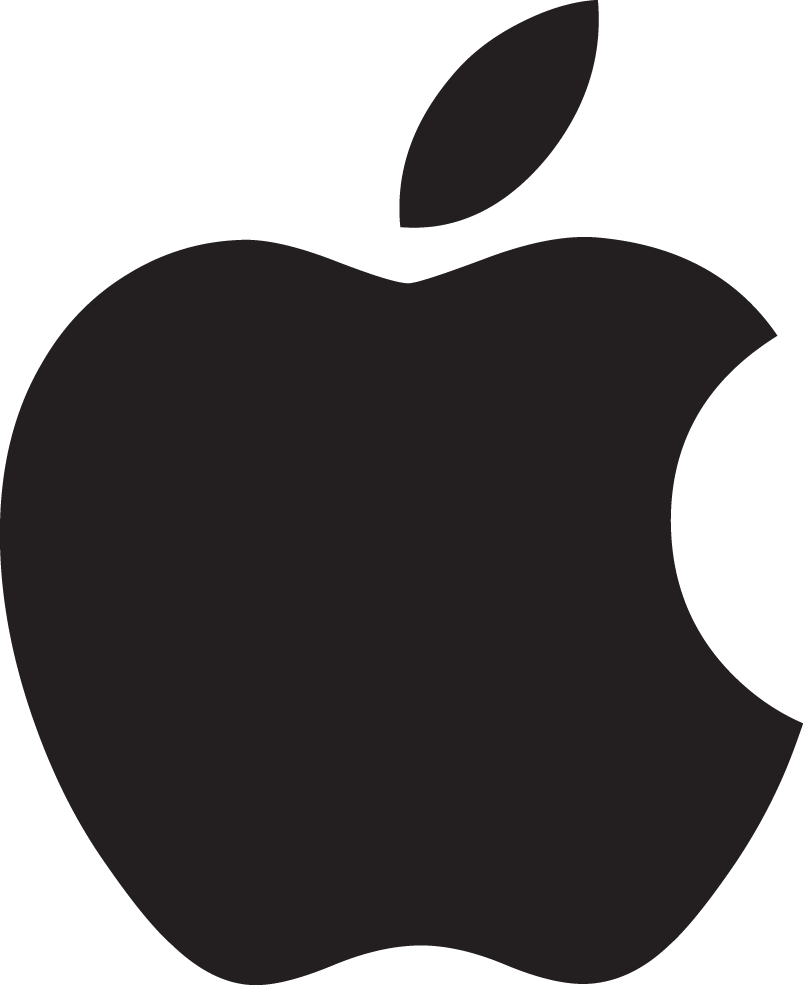 13 Apple Logo Vector Free Download Images