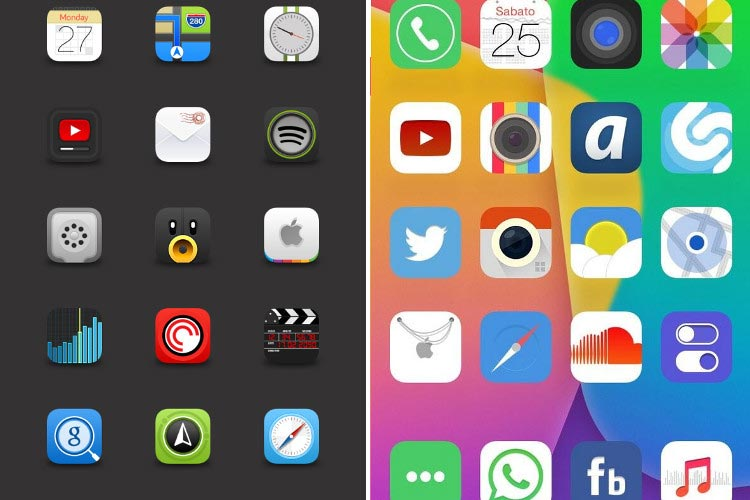 9 Winterboard IOS 8 Icons Images
