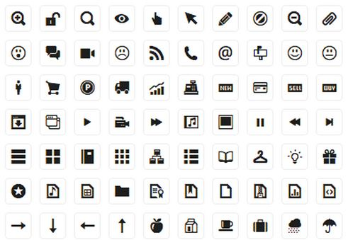 11 Black And White Business Icons Vector Images
