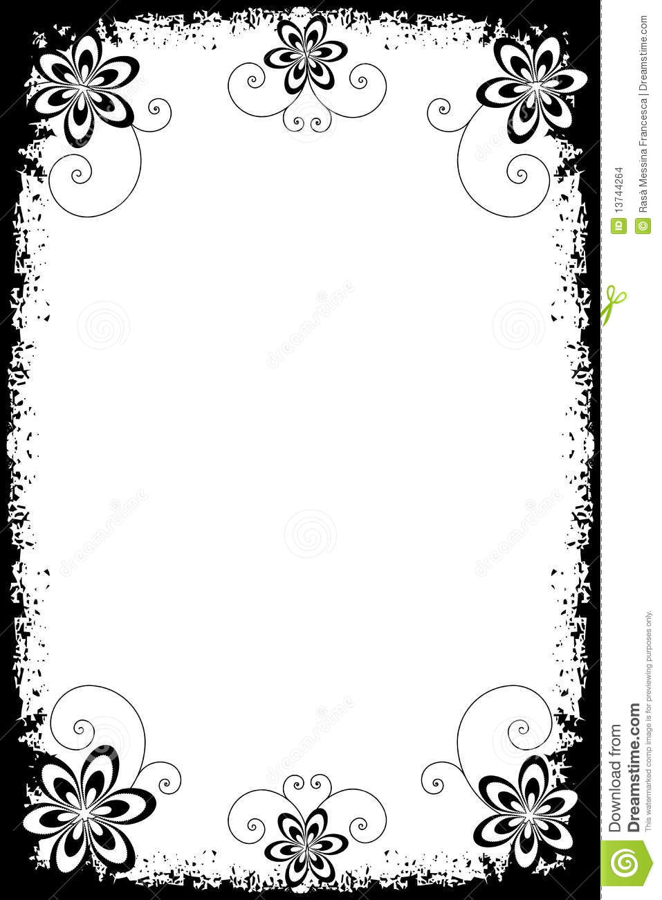 Border Designs In Black And White Borders
