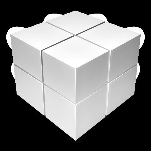Black Cube Icon