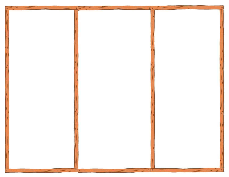 Blank Tri-Fold Brochure Templates Free