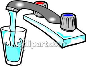 Cartoon Glass of Water