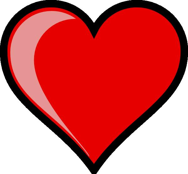 Cartoon Love Heart Clip Art
