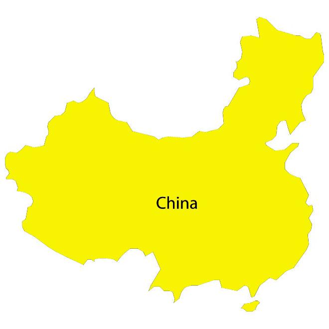 16 China Map Vector Free Images China Map Vector China Map Vector