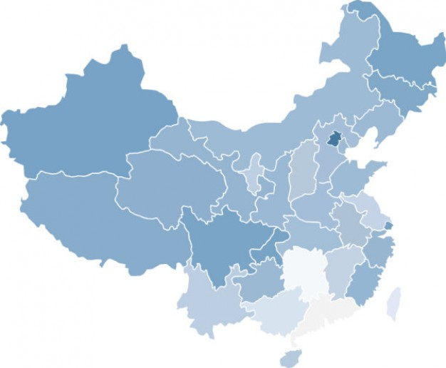 16 China Map Vector Free Images