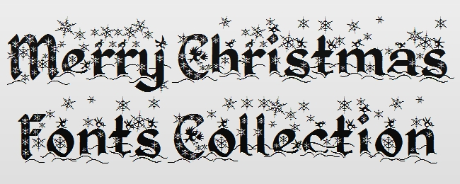11 Best Holiday Font In Word Images