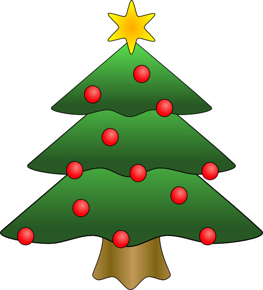 Christmas Tree Clip Art Free