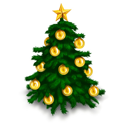 Christmas Tree Star Clip Art Free