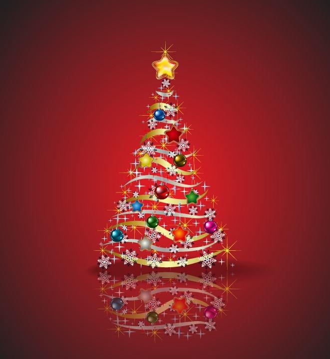 Christmas Trees Free Vector Graphics