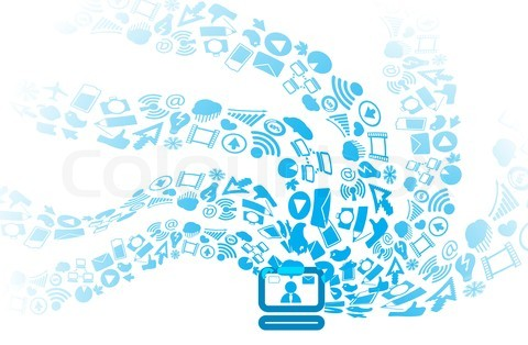 19 Computer Social Media Icons Images