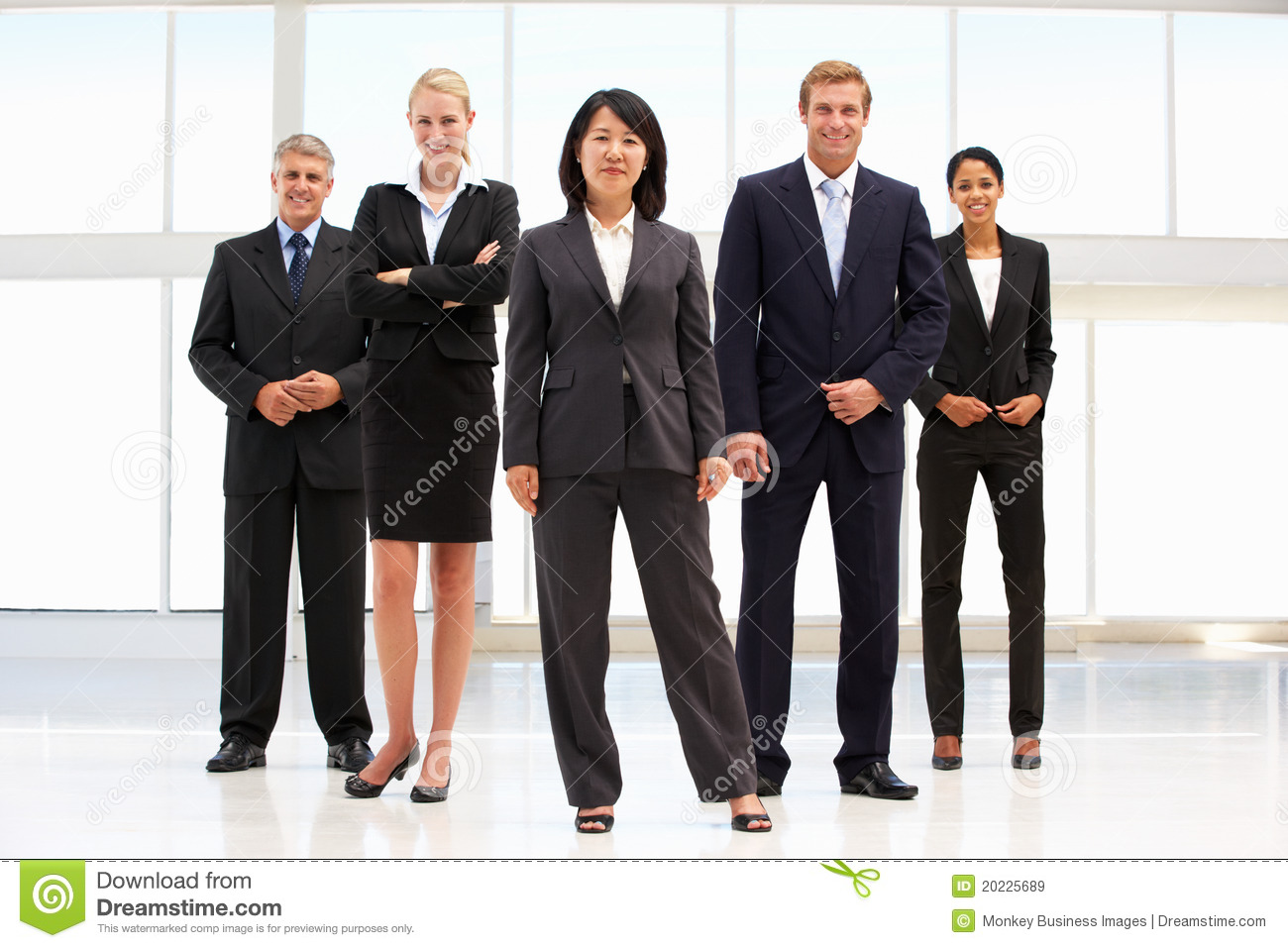 Confident Business Person