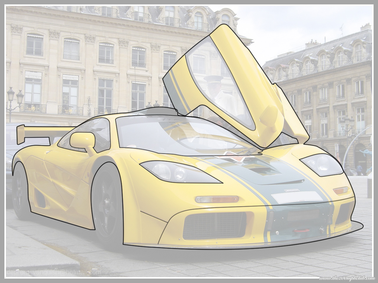 Cool Drawings to Trace a Car