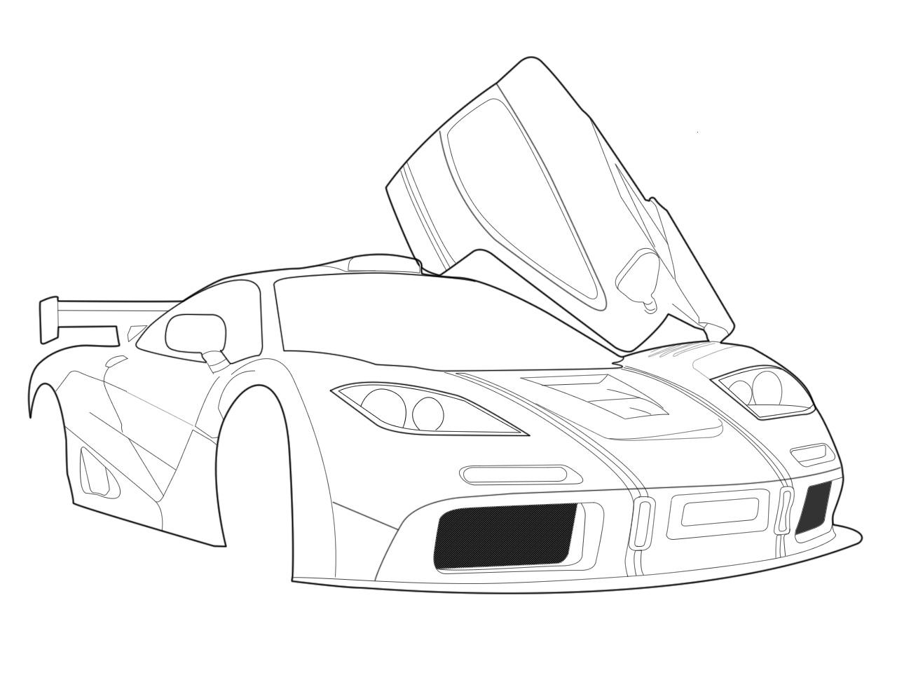 Cool Easy Car Drawings