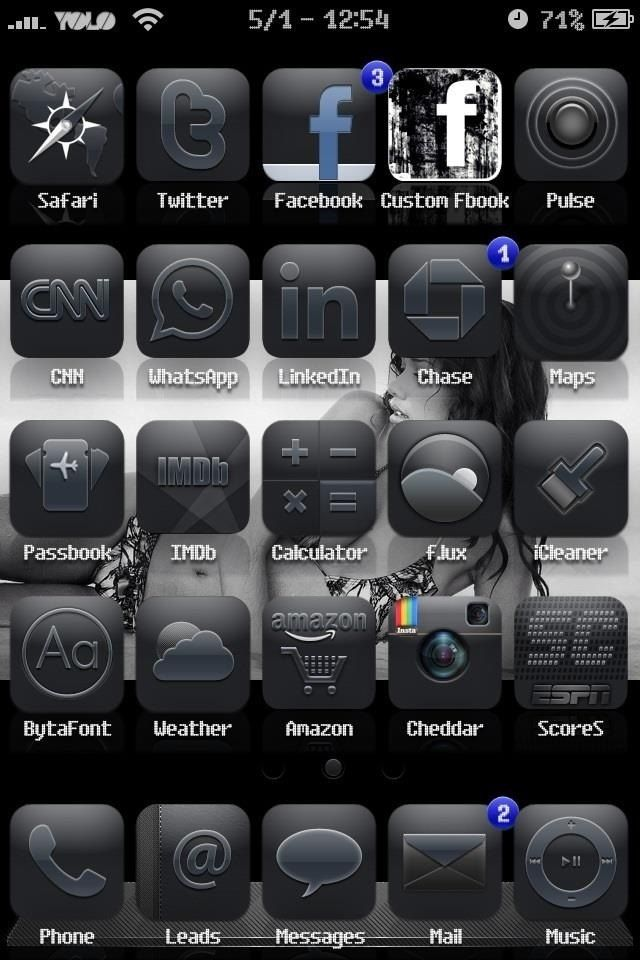 12 Custom IPhone Icons Images