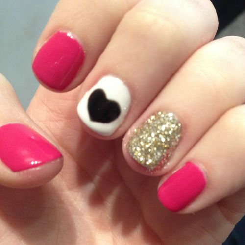 Cute red nail design pics photos red nail designs color cute view images cute design nail prinsesfo Choice Image