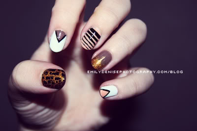 Designs On Each Nail Different