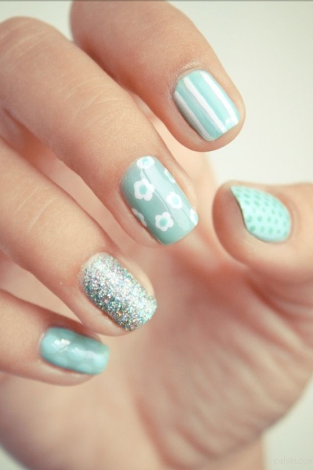 Different Design Each Nail