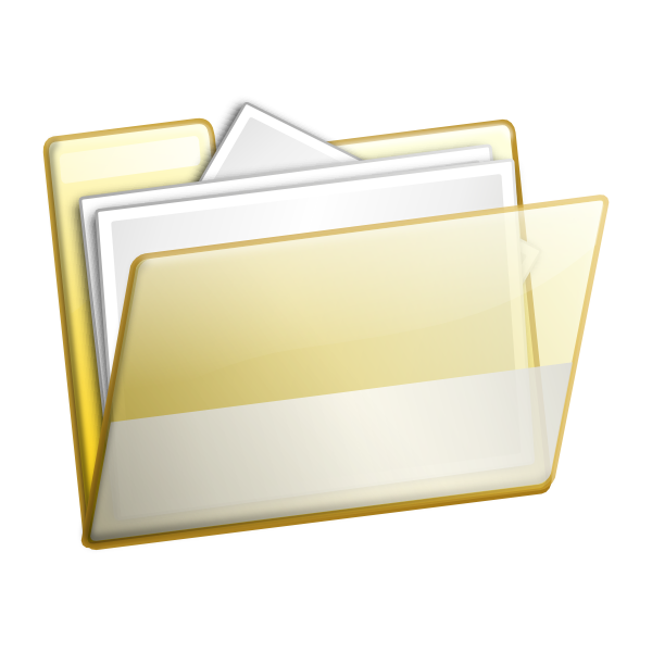 Document Folder Clip Art
