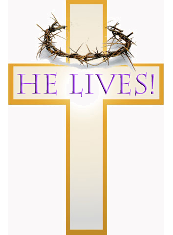 Easter Sunday Religious Clip Art