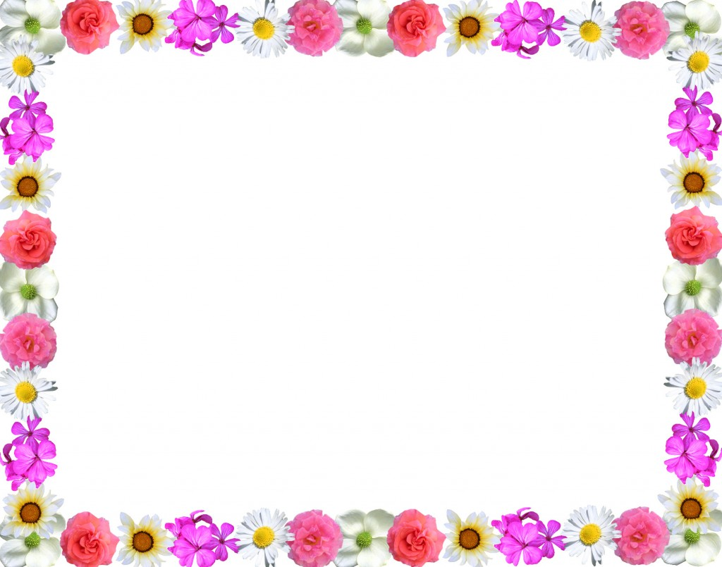 Floral Page Border Designs