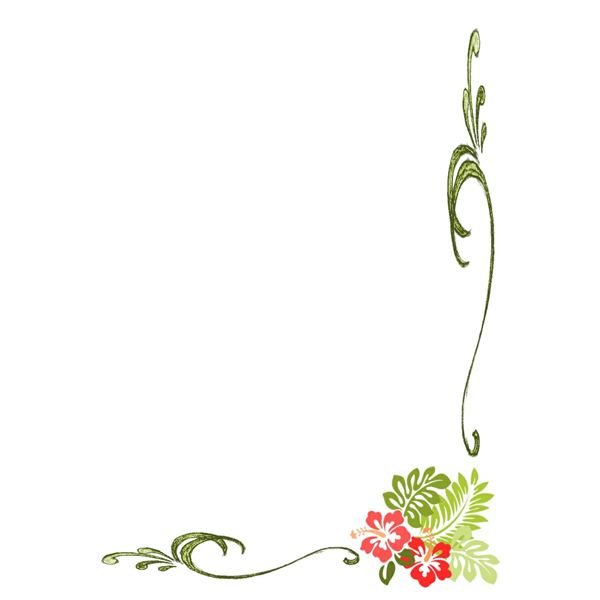 Flower Page Border Clip Art Free