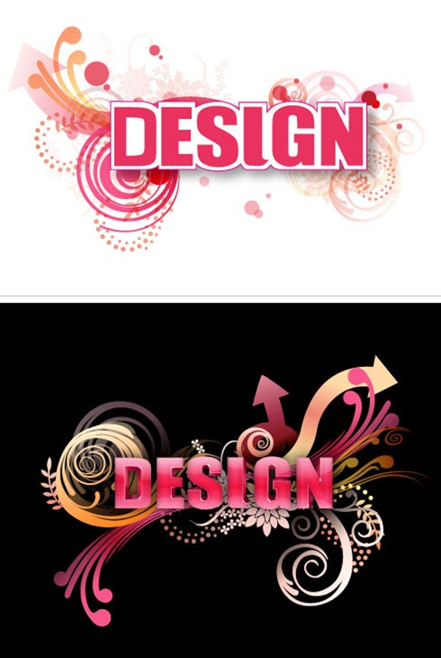 Free 3D Graphic Design Letters