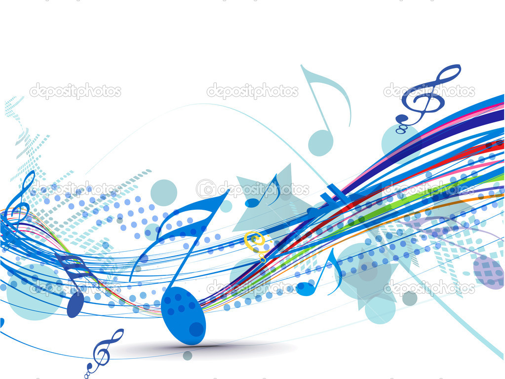 Free Abstract Music Note Designs
