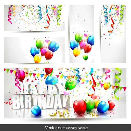 Free Birthday Balloon Banner Images