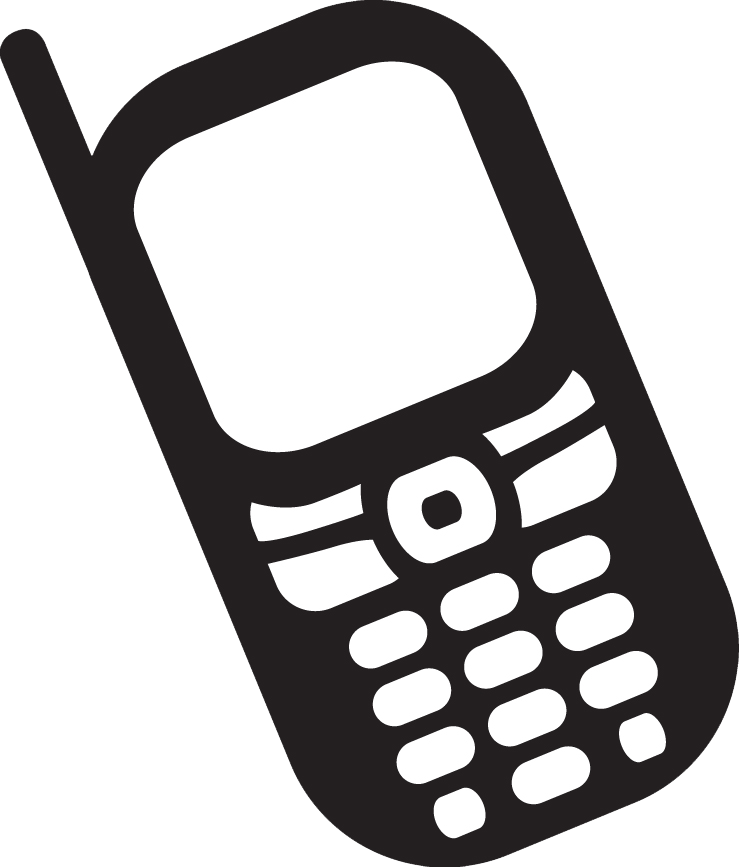 Free Cell Phone Clip Art