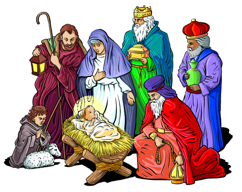 9 Free Religious Christmas Graphics Images