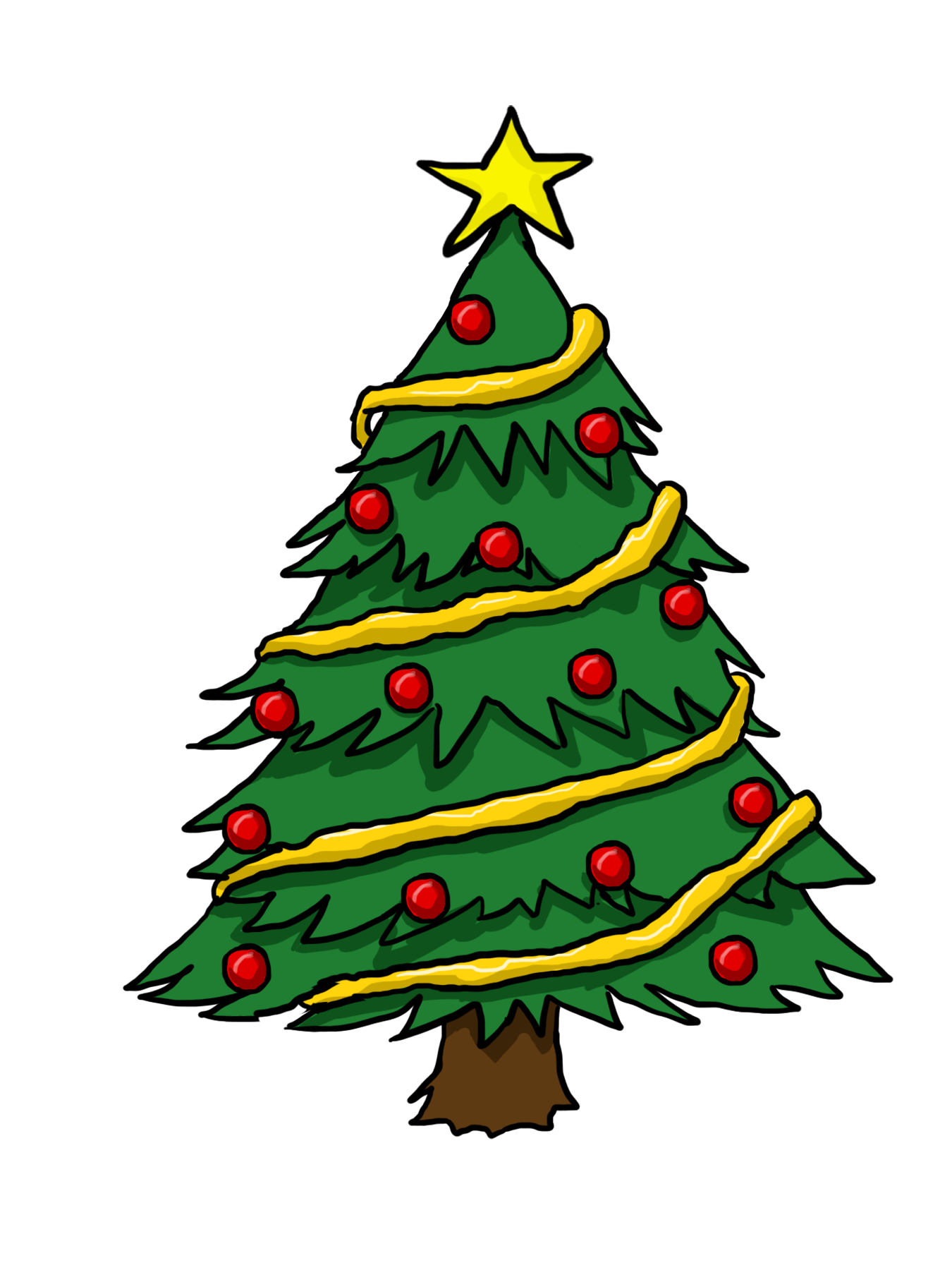 Free Clip Art Christmas Tree