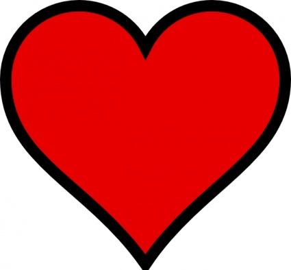 Free Clip Art Heart Shape